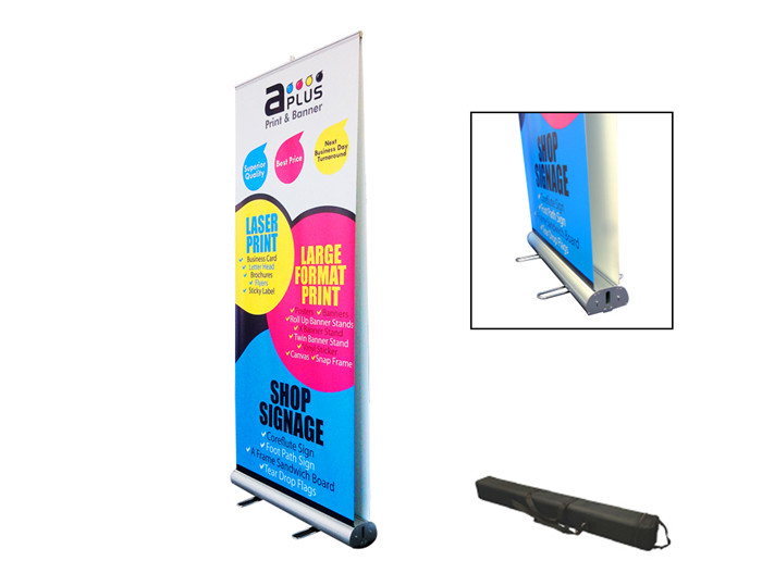 Double side pull up banner stand(PTC-RU-7)