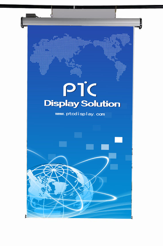 Electric roll banner display(PTC-RE-3A)