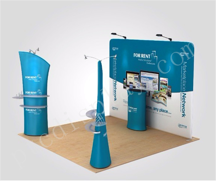 Trade show booth(PTC-TFD-S33)