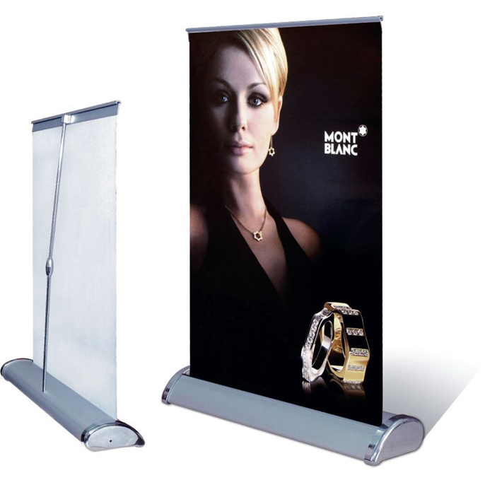 Desktop roll up banner(PTC-RU-TS)