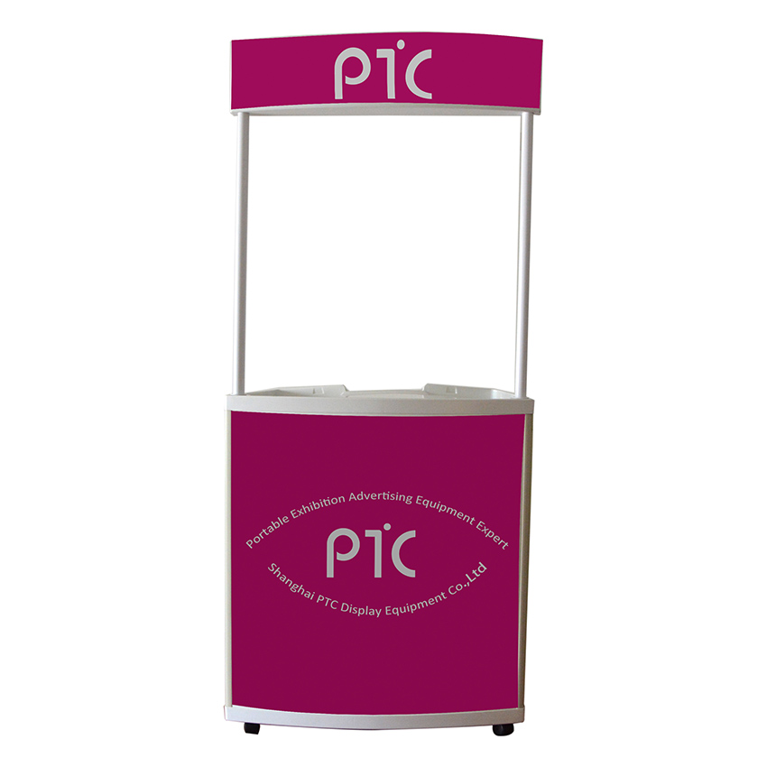 Mobie promotion table with wheels(PTC-PT-W)