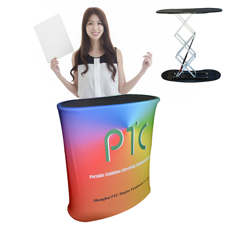Foldable Reception Counter Promotion Table